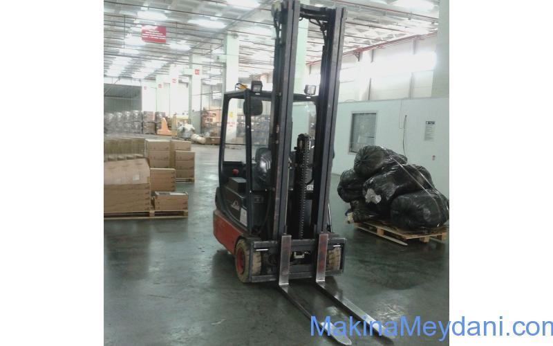 2. El LINDE Akülü Forklift 2008 model