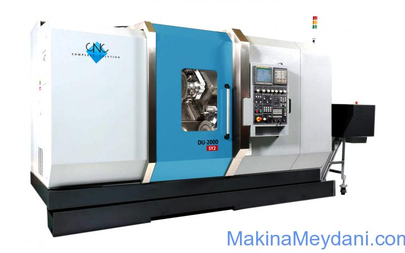 Dual and Triple Turret Multi Axis Turning and Milling Center