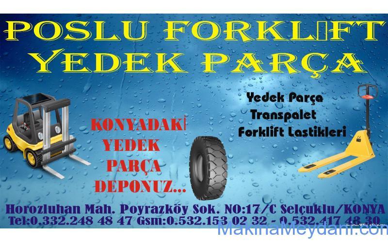 POSLU FORKLİFTTEN SATILIK DOLPHING ECO FORKLİFT
