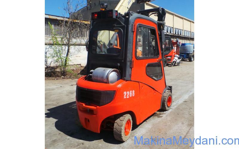 2. El LINDE Lpg Forklift (2008 model)