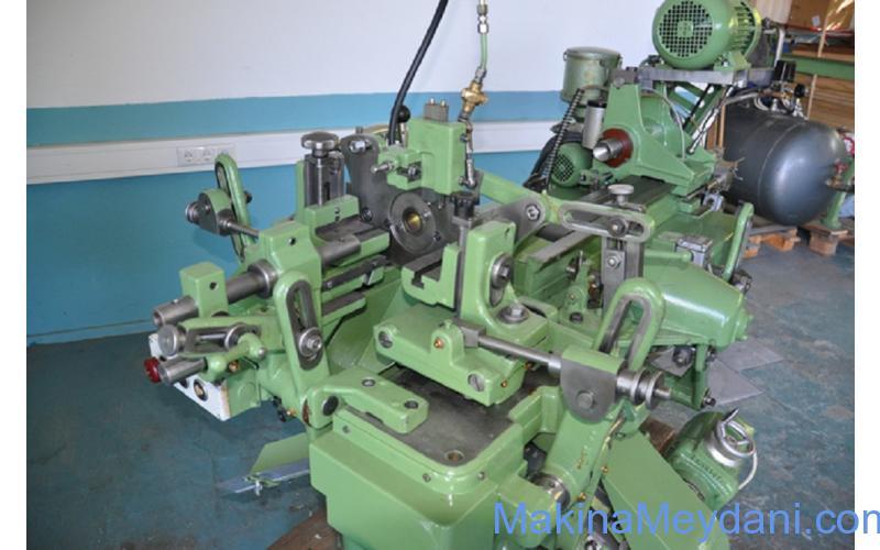 Otomatik Ahşap Torna Makinesi