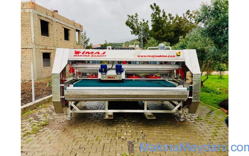 Tam Otomatik Full Krom Halı Yıkama Makinası