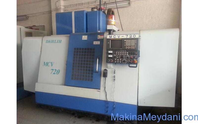 DAHLİH MCV 720 CNC DİK İŞLEME MERKEZİ 2003