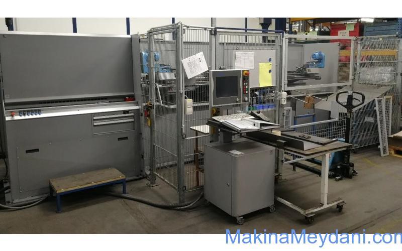 CNC Tel Bükme Makinesi