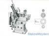 Ful Otomatik Ahşap Torna Makinesi